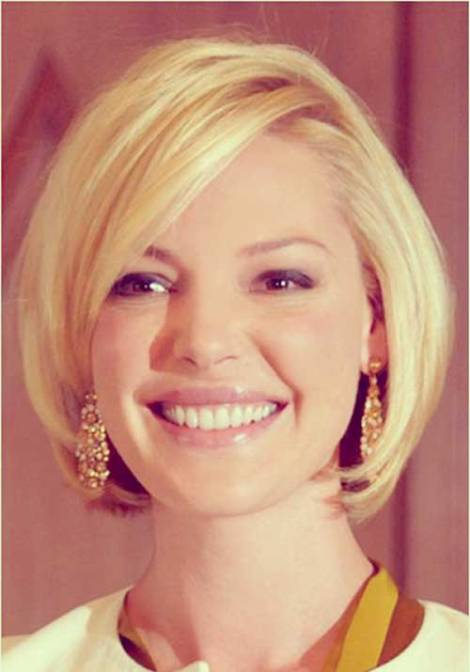 Best Short Hairstyles for Round Faces (2)