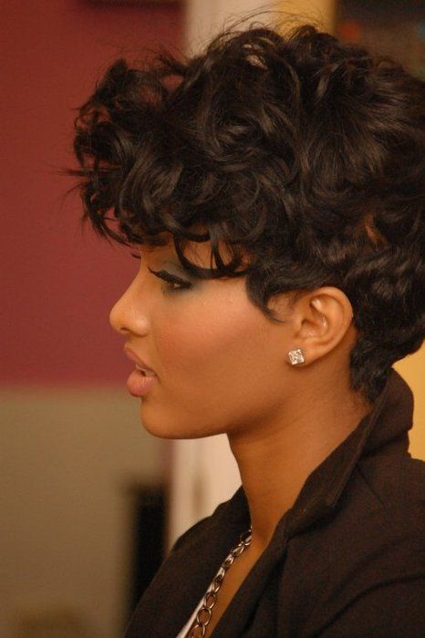 New Short Black Hairstyles