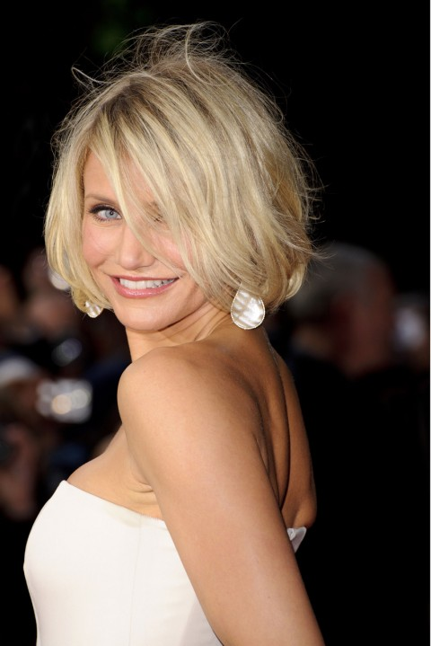 Short Bob Hairstyle For Thin Hair