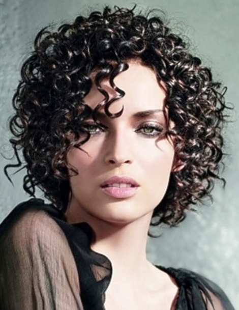 Short Curly Hairstyles for Women (1)