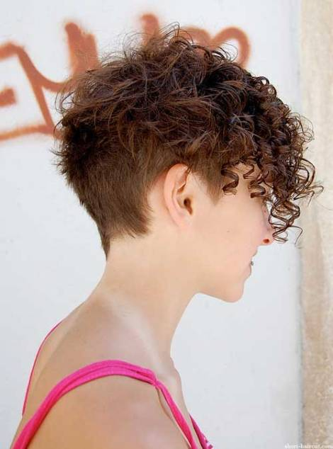 Short Curly Hairstyles for Women (2)