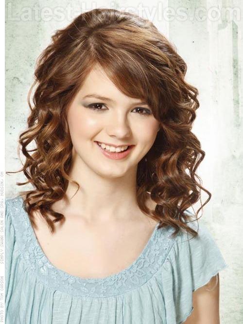 Причёски на средние волосы с чёлкой фото своими руками
