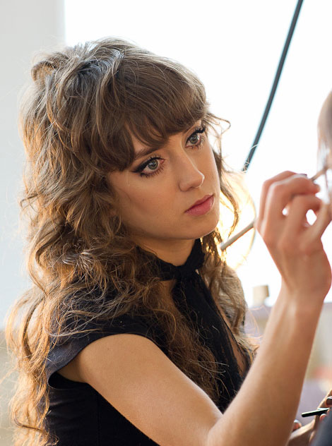 Bangs and fringes for curly hair